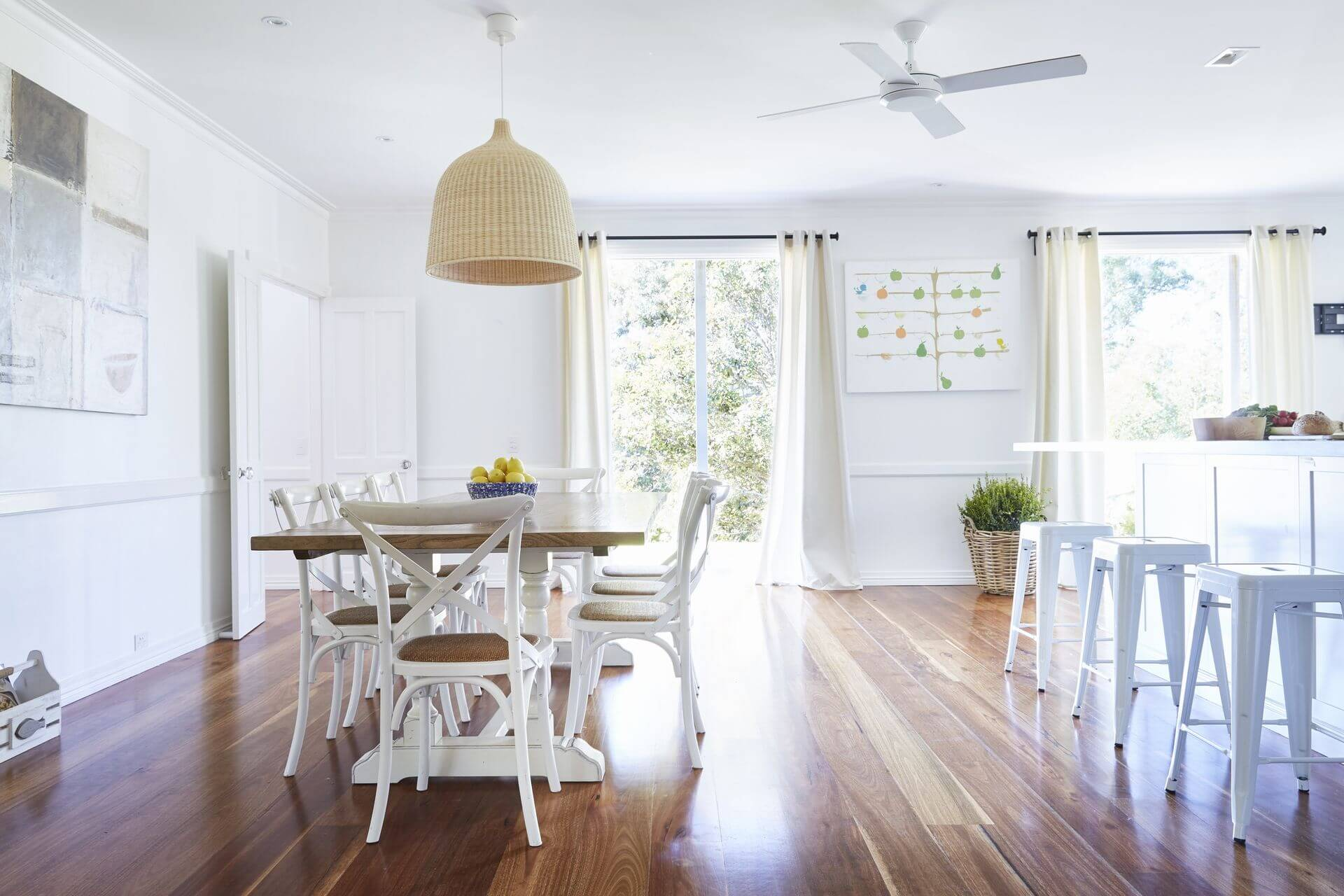 Kitchen dining openplan